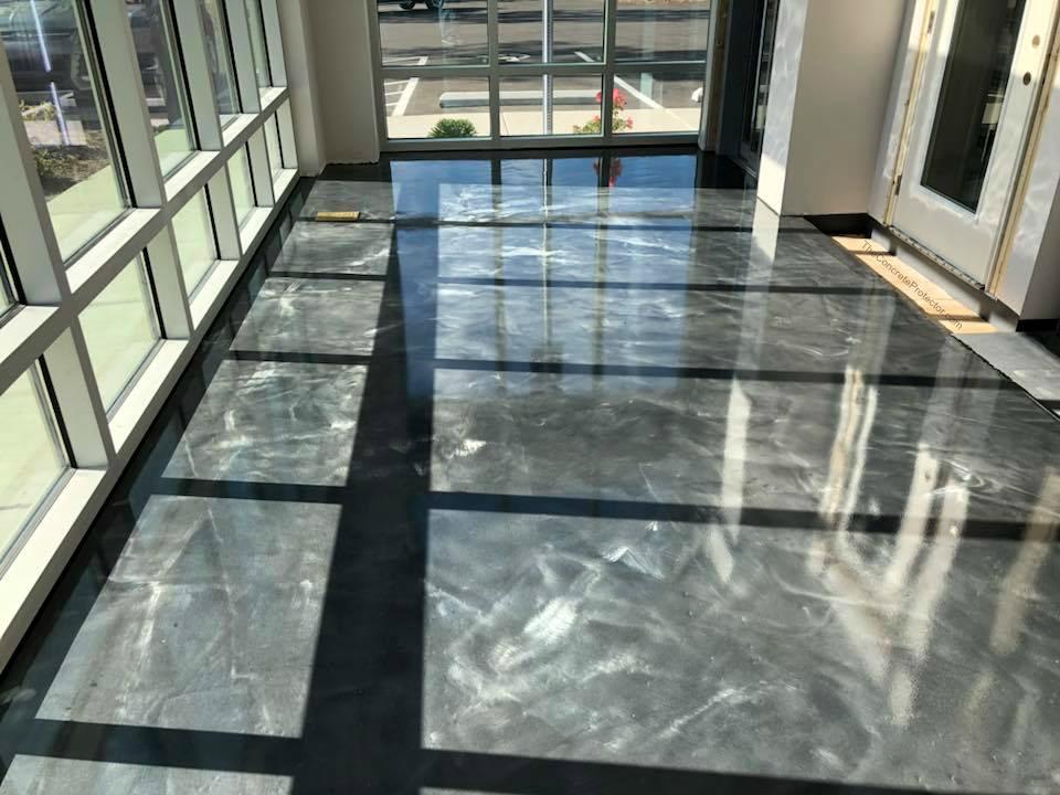 Marble Epoxy Flooring | Thomasville Georgia