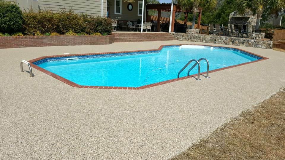 Pool Deck Resurfacing   Thomasville Georgia