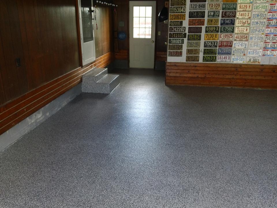 Epoxy Flake Garage Flooring | Thomasville Georgia