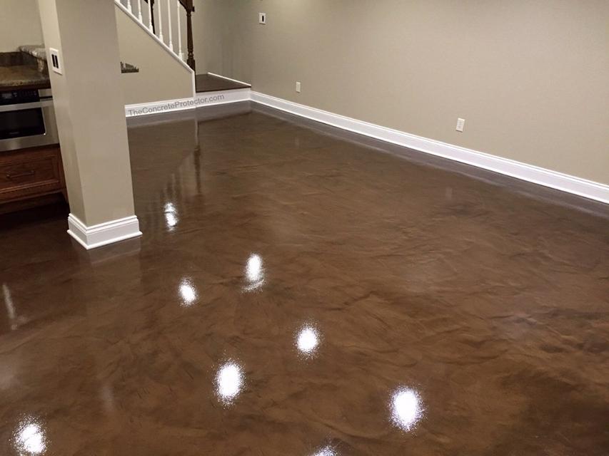 Metallic Marble Epoxy Flooring | Thomasville Georgia