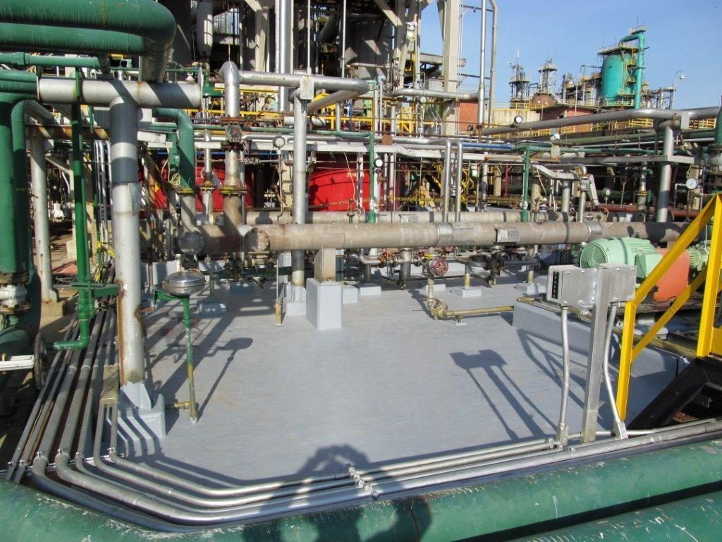 Chemical Processing Industrial Concrete Coating   Floor Warriors   Thomasville Georgia